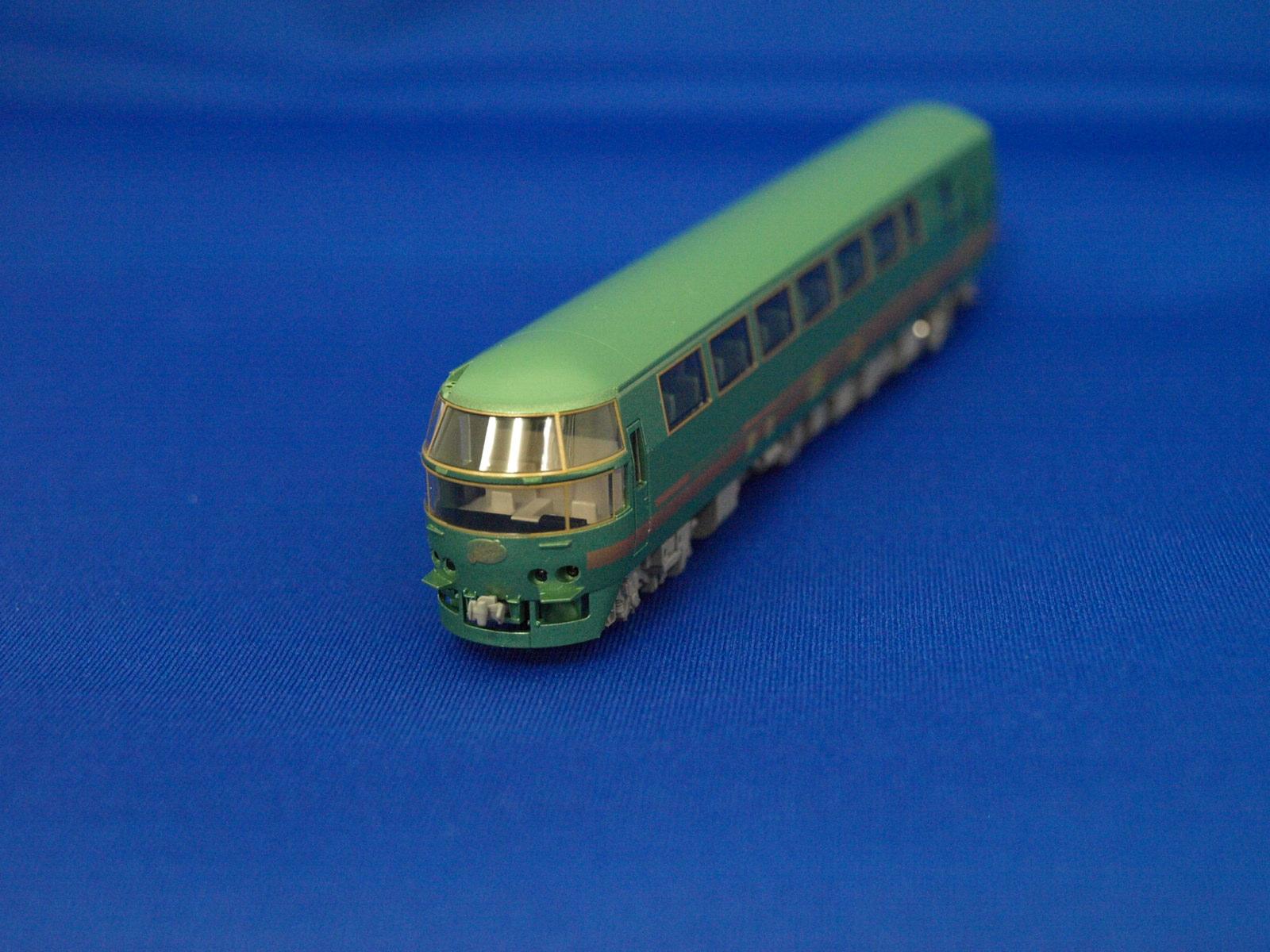 Nゲージ トミックス  92310 JRキハ71系特急ディーゼルカー(ゆふいんの森 I 世・更新後)4両セット