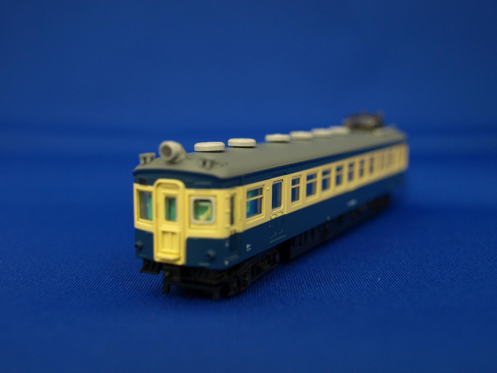 Nゲージ マイクロエース A1289  国鉄モハ43系+54系 スカ色 飯田線「さようならゲタ電」号 4両セット