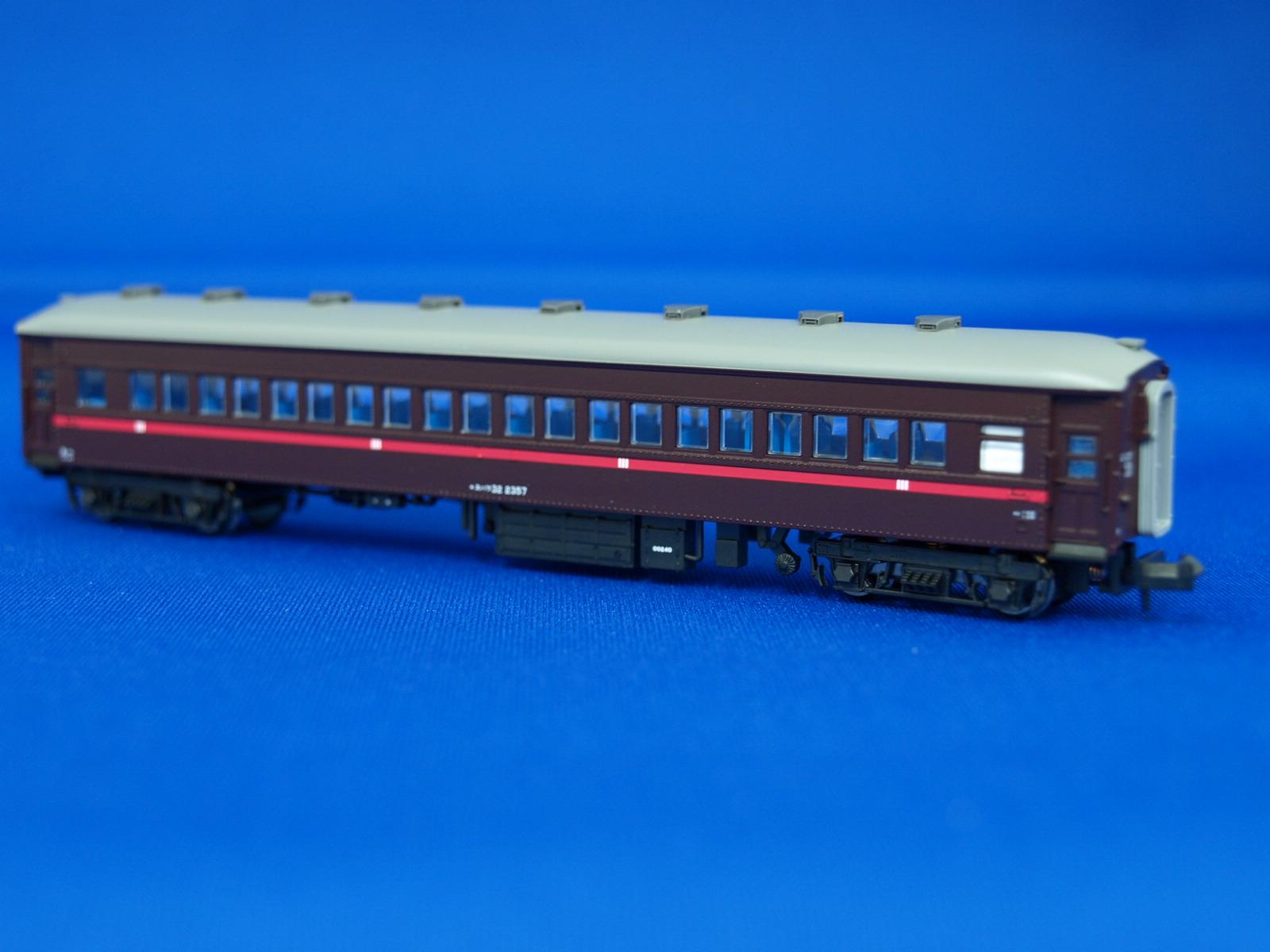 Nゲージ マイクロエース A6983 高崎運転所・イベント用旧型客車・赤帯 4両セット