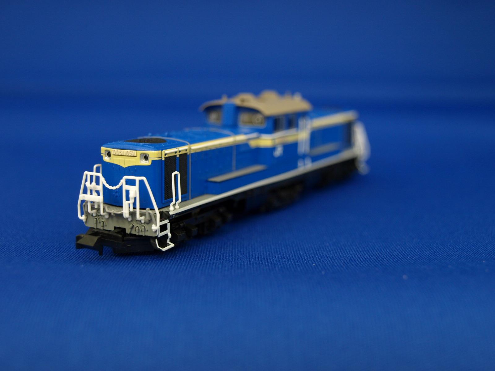 Nゲージ マイクロエース A8505  DD51-1059・貨物試験色 3