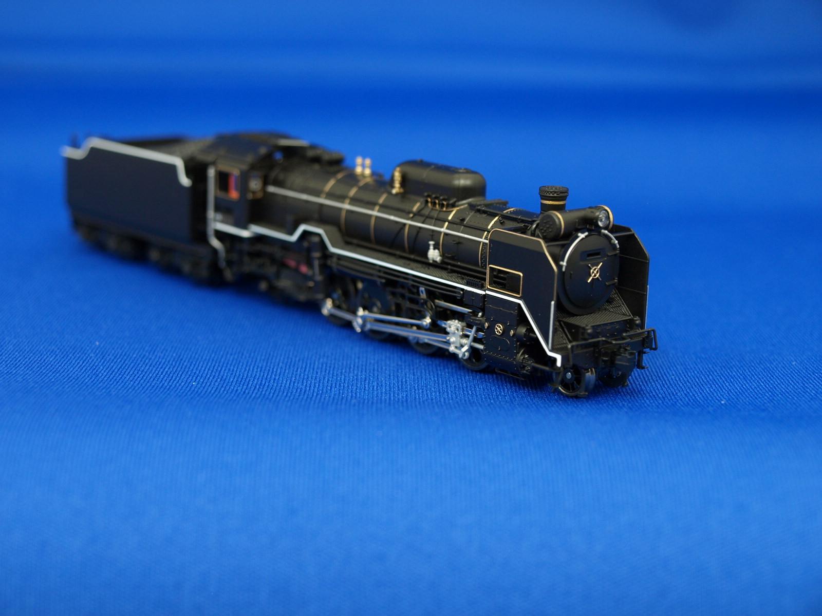 Nゲージ カトー  2016-8 蒸気機関車 D51 200