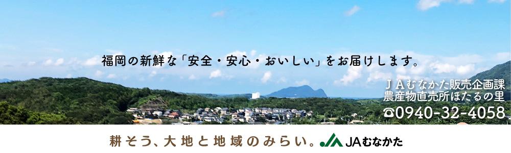 JAむなかた:古い歴史を有する「世界遺産都市宗像」で収穫された農産物をお届け致します
