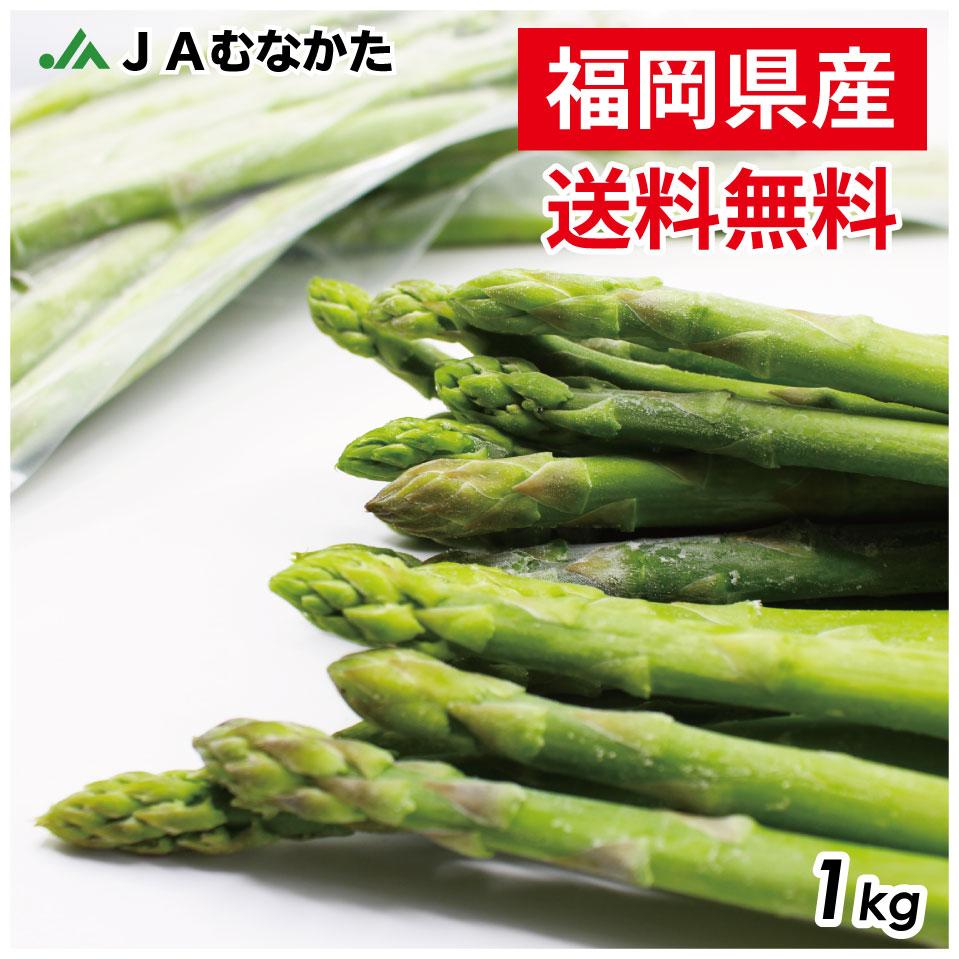 送料無料 ちょっと訳あり福岡県産 冷凍アスパラガス 1kg JAむなかた直送 冷凍食品 アスパラ 新着 冷凍 野菜 2020 冷凍野菜 国産