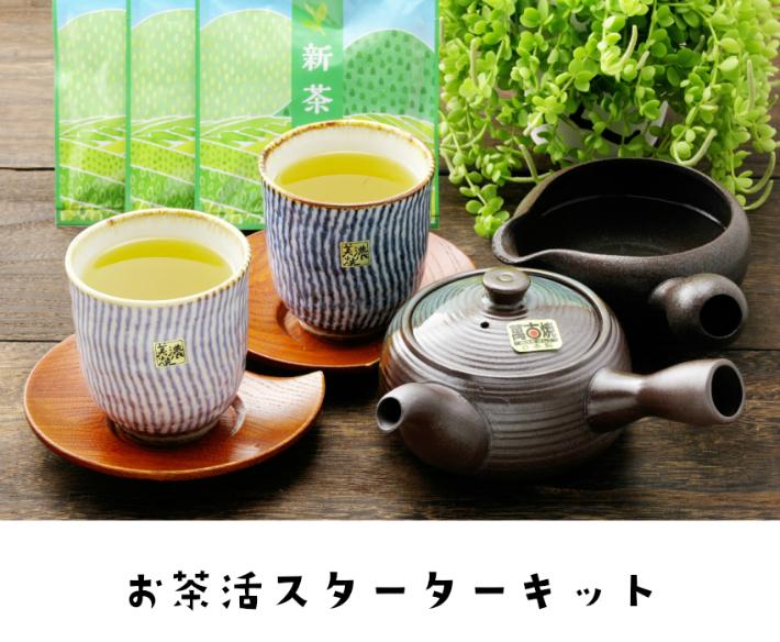【2021新茶】【5月中旬発送】お茶活スタートセット新茶 静岡茶 静岡新茶