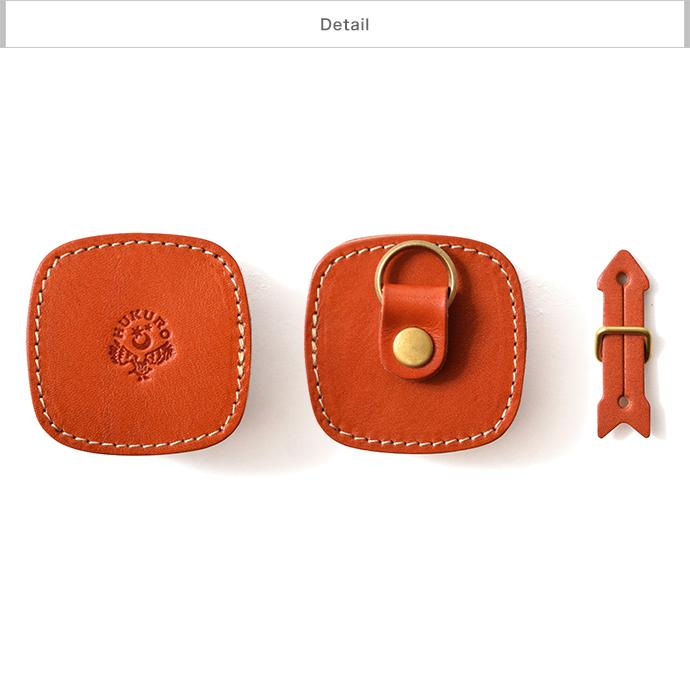 【HUKURO】イヤホンケース-spin- イヤフォンケース 栃木レザー 本革 イヤホン ケース ホルダー コードホルダー コードケース メンズ レディース iPhone iPod Lightningケーブル 収納 巻き取り 純正 walkman 日本製