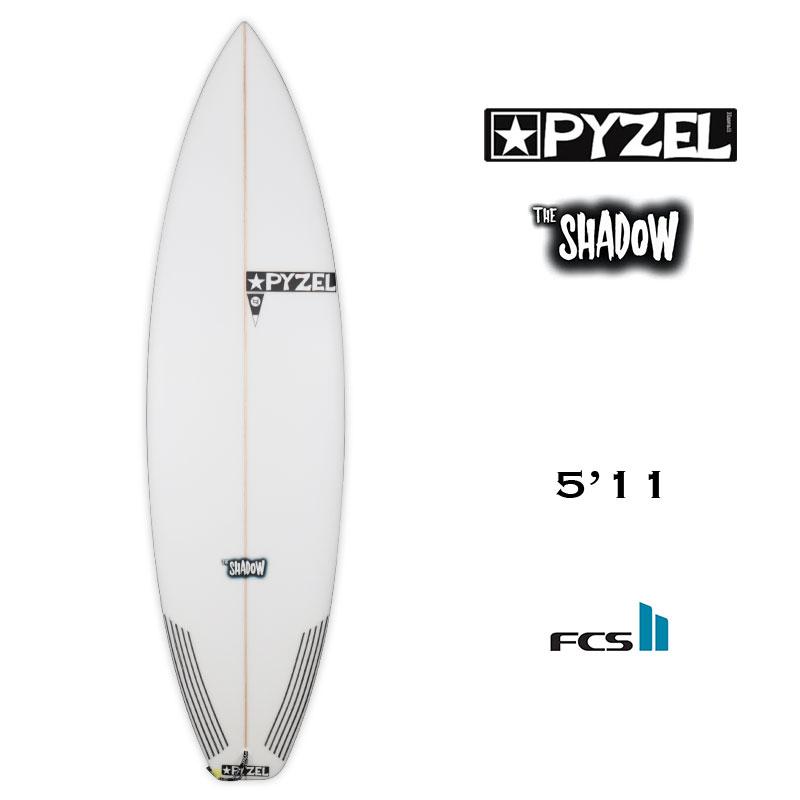 正規取扱店 surf surfboard 人気の製品 マリンスポーツ サーフボード サーフィン パイゼル ショートボード PYZEL ボードセール トライフィン 21091 5.11 エフシーエスツー FCS2 世界の人気ブランド SHADOW シャドウ