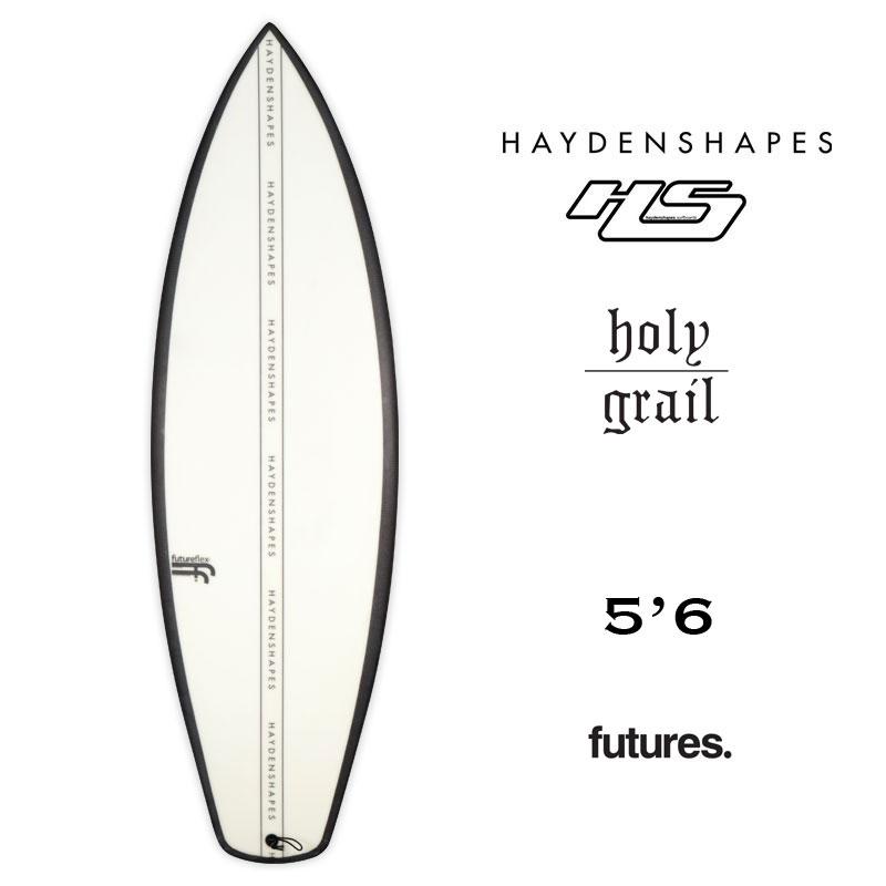 サーフボード ヘイデンシェイプス ホーリーグレイル JACKカスタム Hayden Shapes 今ダケ送料無料 Holy Grail 5.6 hs38549 futures ショートボード 5plugs サーフィン 春の新作続々