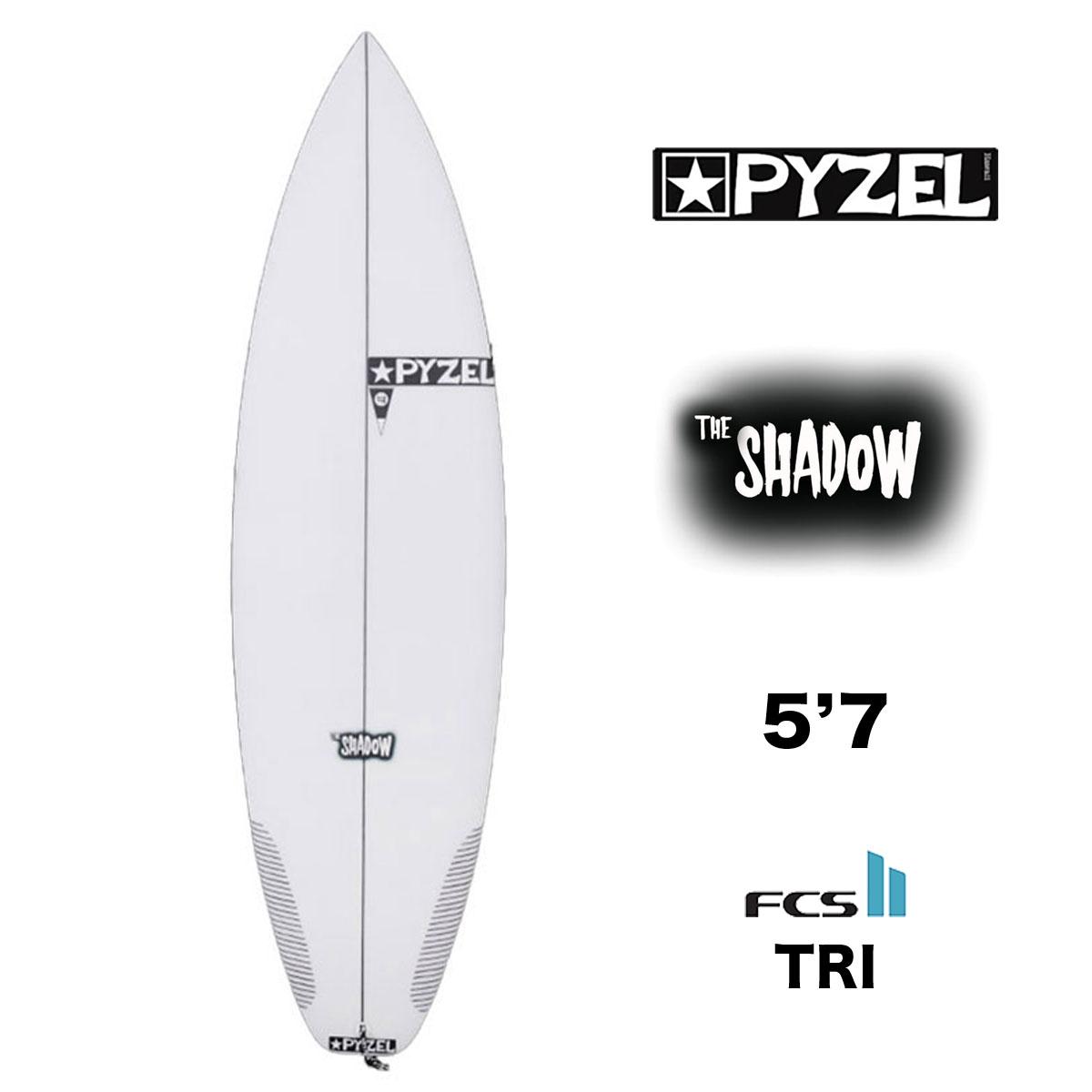 サーフボード パイゼル 数量は多 ショートボード PYZEL SHADOW シャドウ 5.7 ボードセール FCS2 トライフィン サーフィン エフシーエス2 5'7 価格 交渉 送料無料 500480