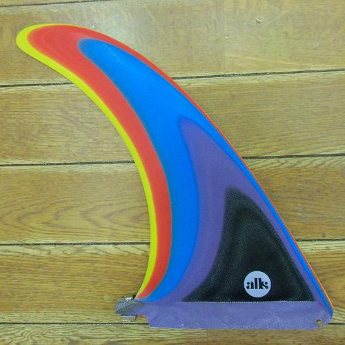 【10.0】ALKALI FIN (アルカリフィン)Hull Flex(ハルフレックス)Limited Color (リミテッドカラー)10.0《Single Fin (シングルフィン)》