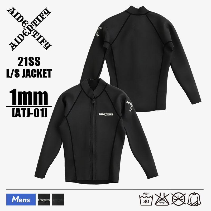 <title>日本製 伸縮性 高性能 耐久性 スタンダード S M L XL ATJ-01 驚きの値段 アイデンティファイ AIDENTIFY メンズ ウェットスーツ 1mm ジャケット タッパー 長袖 ロングスリーブ JACKET 2021 春夏</title>