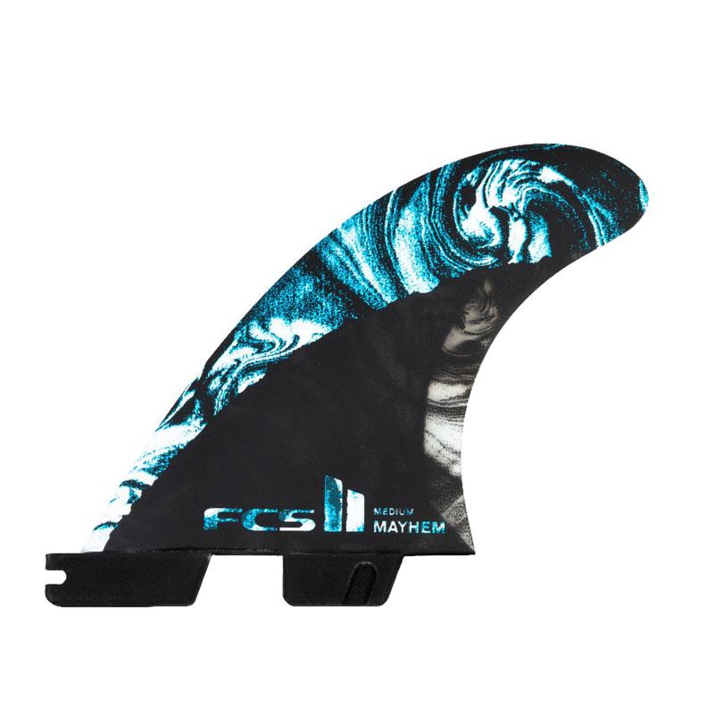 サーフボード フィン エフシーエス メイヘム 完売 ブルー ファイブ FMBM-CC04-MD-FS-R FCS FINS エフシーエスFCS2 CARBON FIVE MB 永遠の定番 MIDIUM PC
