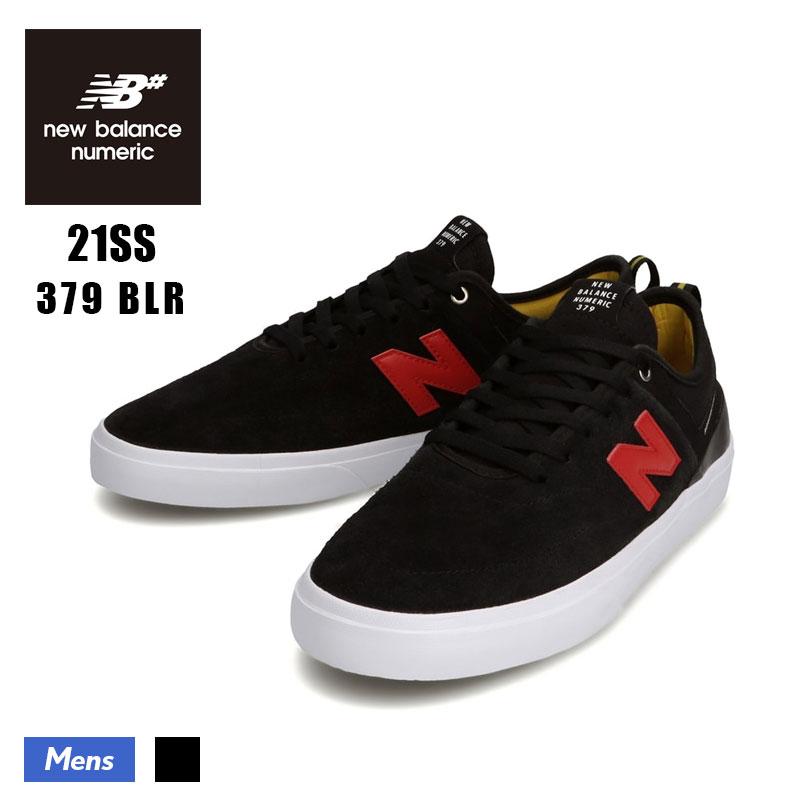限定 スケボーシューズ 高級品 スケシュー スケートボード NB ニューバランス ヌメリック ne1s-nm379blr NM379 メンズ 2021春夏 即日出荷 ブラック スケートボードシューズ BLR スケボー BALANCE NEW スニーカー NUMERIC 379 BLACK