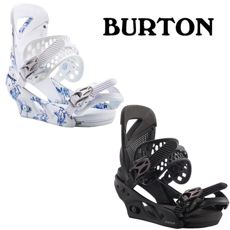 BURTON (バートン) スノーボード バインディング [105451] Women's Burton Lexa Re:Flex Snowboard BindingMサイズ 19-20 《国内正規取扱店》DELFT BLUE【614822】BRACKISH【614839】
