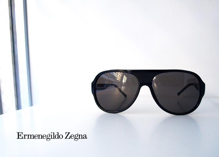 Ermenegildo Zegna エルメネジルド ゼニア SZ3565G Black サングラス ブラック