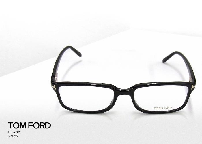TOM FORD トムフォード TF5209 伊達メガネ アイウェア 001/ブラック 伊達眼鏡 サングラス