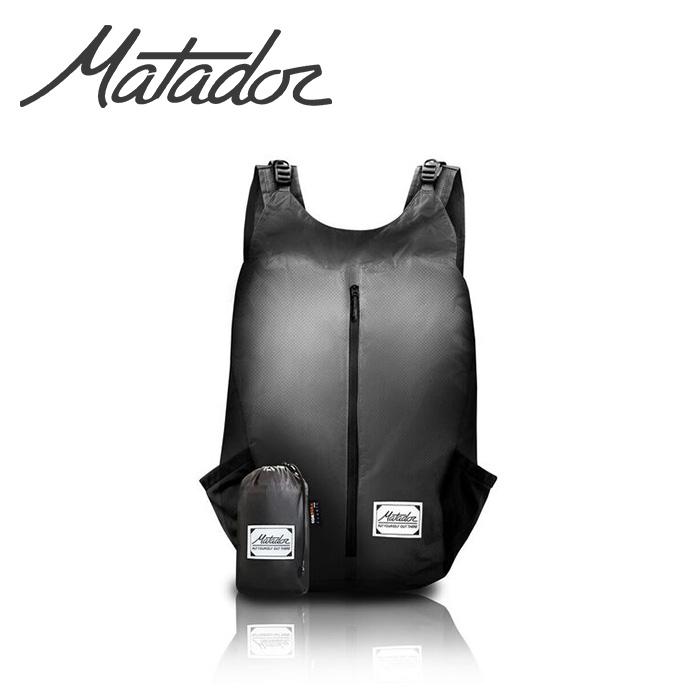 Matador マタドール コンパクトに折りたためる防水デイパック リュック バックパック FreeRain24 グレー×ブラック