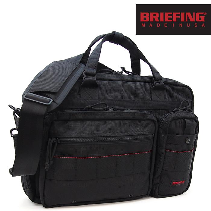 BRIEFING ブリーフィング 2wayブリーフケース ビジネスバッグ B4 OVER TRIP/RED LABEL ブラック