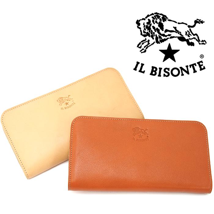 IL BISONTE イルビゾンテ L時ファスナー長財布 C0909 全2色 イルビゾンテ 財布