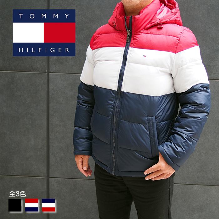TOMMY HILFIGER トミーヒルフィガー ジャケット 中綿ジャケット ダウンジャケット フード付き 全3色 156AN122 トミーヒルフィガー ダウンジャケット