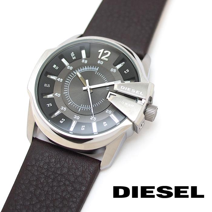 DIESEL ディーゼル メンズ腕時計 46mm ガンメタルグレー DZ1206 MASTER CHIEF マスターチーフ ディーゼル 時計 メンズ