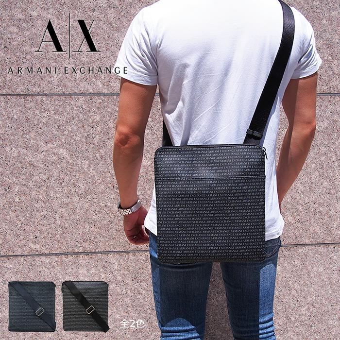 ARMANI EXCHANGE アルマーニエクスチェンジ ショルダーバッグ 全2色 アルマーニエクスチェンジ バッグ AX