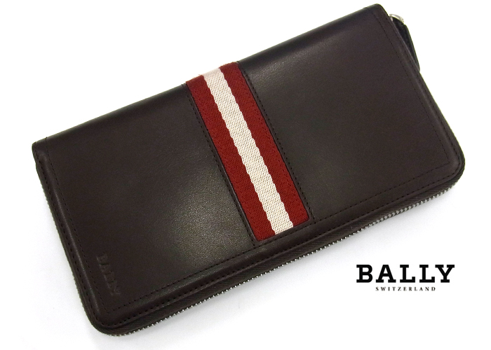 BALLY バリー TASYO ラウンドファスナー長財布 271/チョコレート