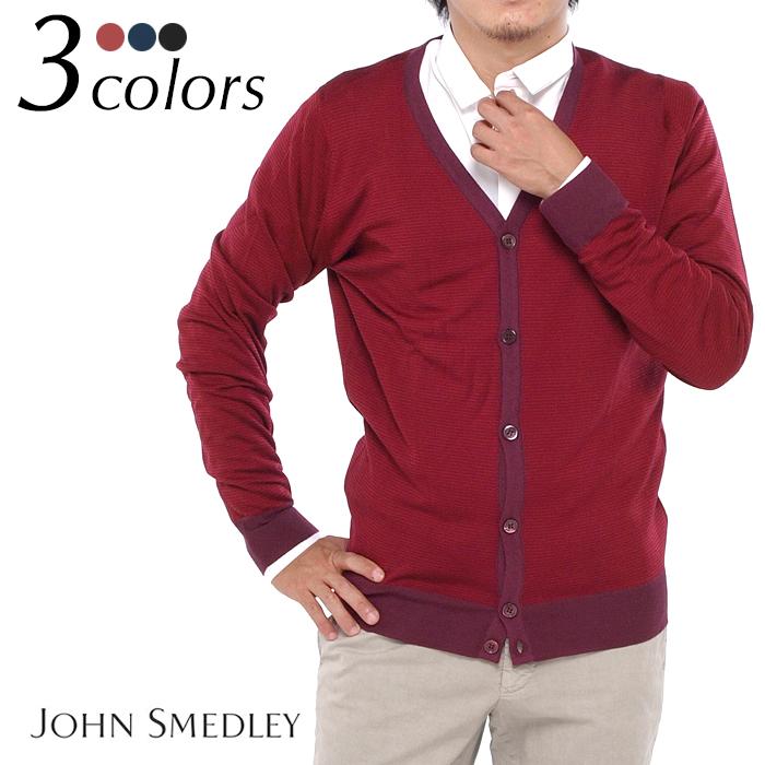 JOHN SMEDLEY 全3色 ジョンスメドレー DOLTON ボーダー DOLTON カーディガン メンズカーディガン ボーダー 全3色, 株式会社マルマン:173e3f9a --- officewill.xsrv.jp