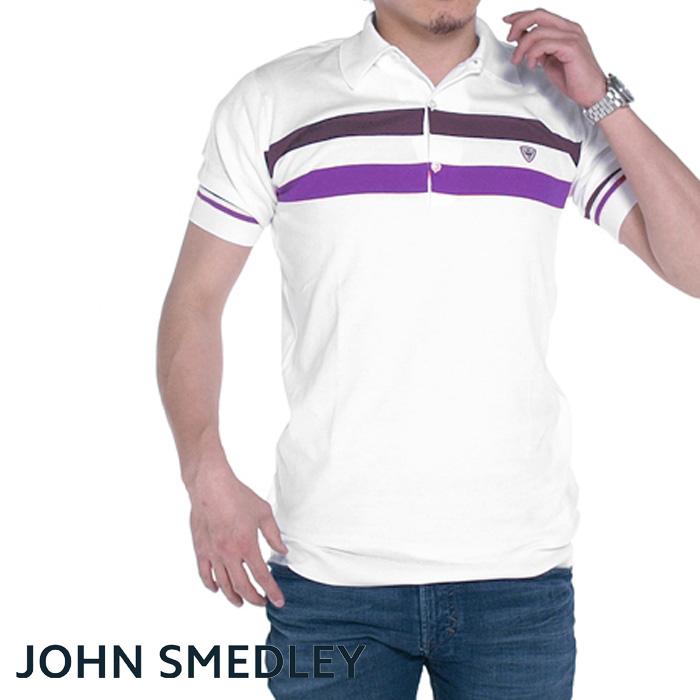 JOHN SMEDLEY ジョンスメドレー RACE スリムフィット 半袖ポロシャツ 全3色 ポロシャツ メンズ
