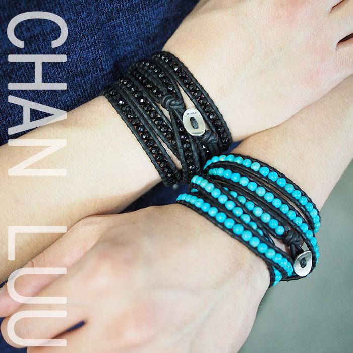CHAN LUU チャンルー メンズ 5ラップブレス ブレスレット 5連 5WRAP BRACELET BSM-1289 全2色 チャンルー ブレスレット メンズ