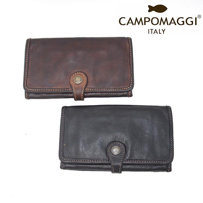 CAMPOMAGGI カンポマッジ イタリアンレザー 長財布 小銭入れ付き CP0041 VL 全2色 イタリア製