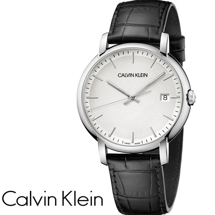 Calvin Klein カルバンクライン 腕時計 メンズ 43mm ホワイト×ブラック K9H211C6 ESTABLISHED エスタブリッシュド クォーツ メンズ腕時計 ウォッチ カルバンクライン 時計