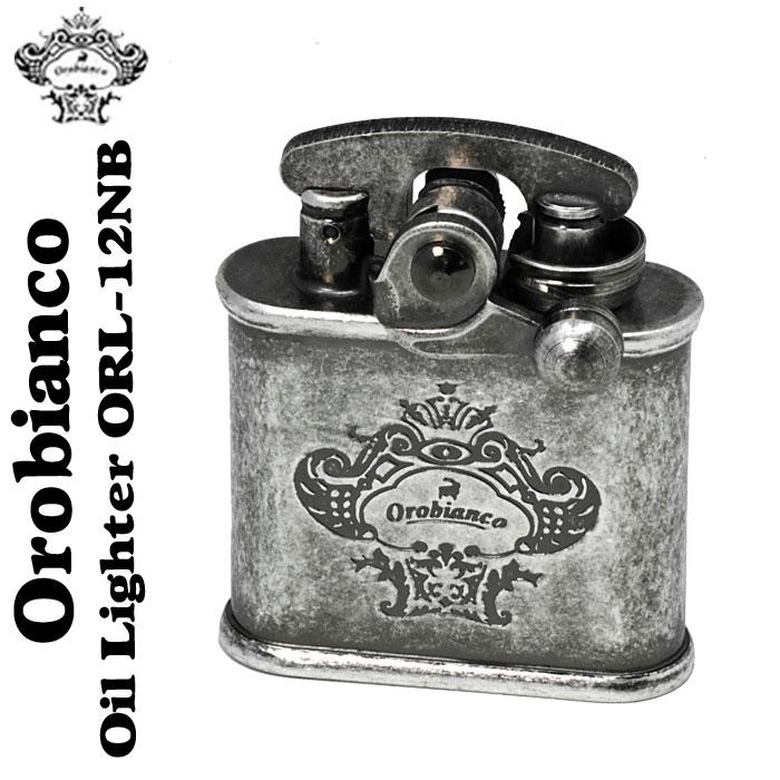 (キャッシュレス5%還元)Orobianco(オロビアンコ)オイルライター ニッケルバレルORL-12NB送料無料