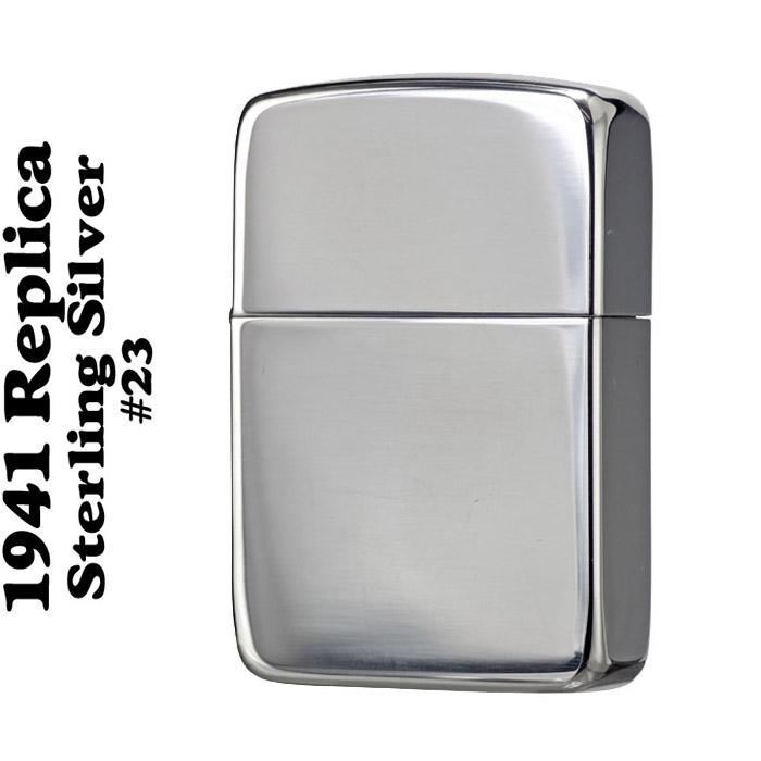品質が完璧 zippo ZIPPO ジッポ ライタ- 1941スタ-リングシルバ-ジッポNO.23 lighter ポリッシュ仕上げ ZIPPO ジッポー lighter ジッポーライター ジッポー, リビングソウル:ab986771 --- canoncity.azurewebsites.net
