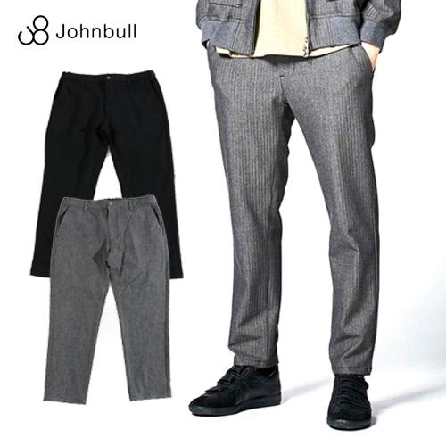 Johnbull/ジョンブル Outlast Easy Pants アウトラストイージーパンツ 21206[メンズ ズボン パンツ ウエストゴム テーパード アウトラスト フレックス 快適 楽チン リラックス ストレッチ スリム 上品 キレイ 紳士 オールシーズン 通年 オフィスカジュアル]