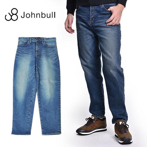 Johnbull/ジョンブル フレックス テーパード ジーンズ Flex Regular Jeans 21352 [メンズ ズボン パンツ ストレッチ スリム スキニー スキニーパンツ デニム ワンウォッシュ 5ポケット おしゃれ かっこいい 紳士 春服 春物 春 夏服 夏物 夏 大人 彼氏 プレゼント]