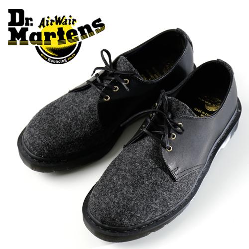 dr.martens / ドクターマーティン 3ホールシューズ MOON & PITTARDS PACK 25275080 [メンズ 靴 ブーツ レザー 革 革靴 ドクターマーティン ホワイトステッチ モッズ パンク おしゃれ かっこいい 紳士 秋 冬 大人 彼氏 プレゼント]