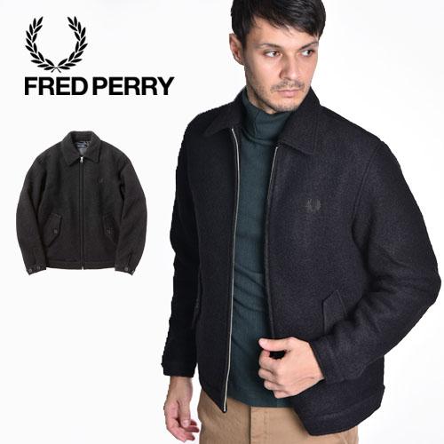 FRED PERRY/フレッドペリー スライバー カバンジャケット CABAN JACKET F2606[2019aw新作]