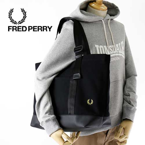 rabattkod bästa sneakers ny autentisk JACKPOT: FRED PERRY/ Fred Perry fawn tote bag PIQUE TOTE BAG F9579 ...