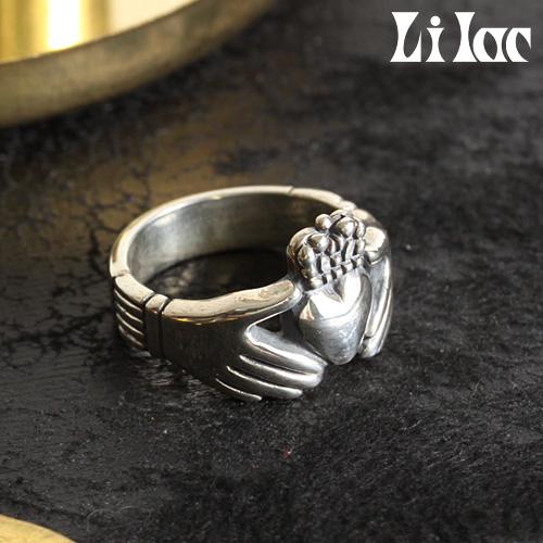 Lilac/ライラック クラダーリング ladys 046R[メンズ リング 指輪 クラダリング メンズアクセサリー おしゃれ かっこいい 紳士 秋服 秋物 秋 冬服 冬物 冬 大人 彼氏 プレゼント]