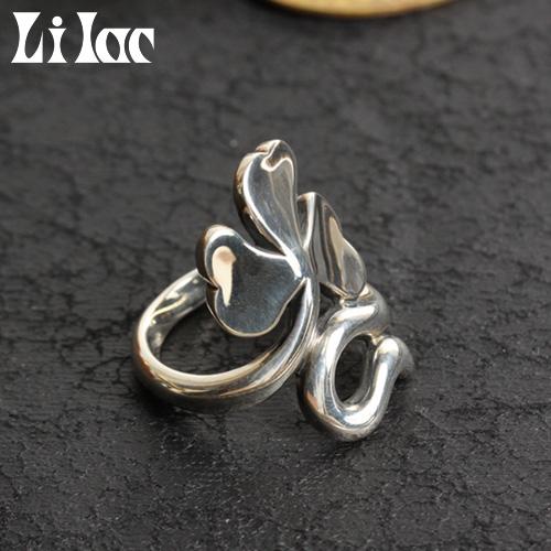 Lilac/ライラック シャムロックリング 122R[メンズ リング 指輪 メンズアクセサリー おしゃれ かっこいい 紳士 秋服 秋物 秋 冬服 冬物 冬 大人 彼氏 プレゼント]