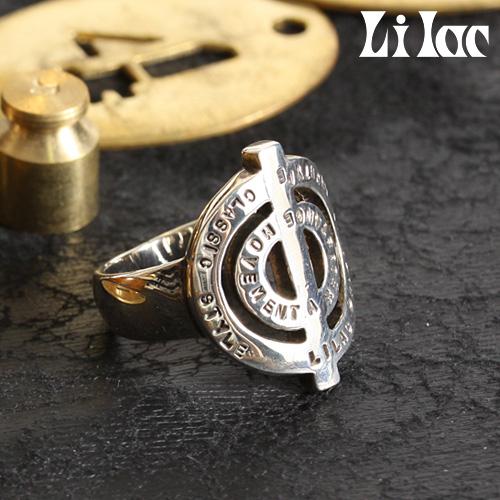 Lilac/ライラック ピースマークリング 127R[メンズ リング 指輪 メンズアクセサリー おしゃれ かっこいい 紳士 秋服 秋物 秋 冬服 冬物 冬 大人 彼氏 プレゼント]