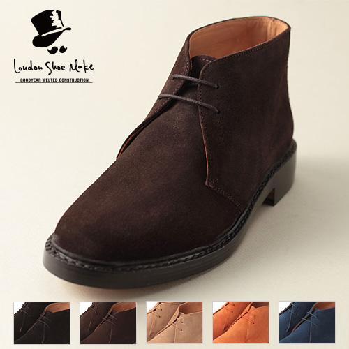 London Shoe Make/ロンドンシューメイク デザートチャッカブーツ LSM606 2016ss[メンズ 靴 ブーツ 革 革靴 おしゃれ かっこいい 紳士 秋服 秋物 秋 冬服 冬物 冬 大人 彼氏 プレゼント]
