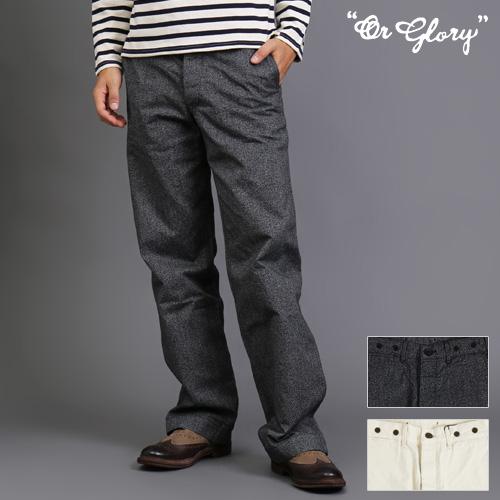 [SALE]OR GLORY/オアグローリー ワークパンツ 81615011[メンズ パンツ ボトム ワークパンツ おしゃれ かっこいい 紳士 秋服 秋物 秋 冬服 冬物 冬 大人 彼氏 プレゼント]