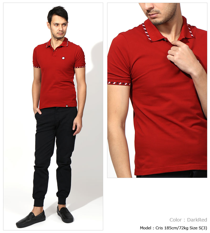 red polo outfit men 92b8a9