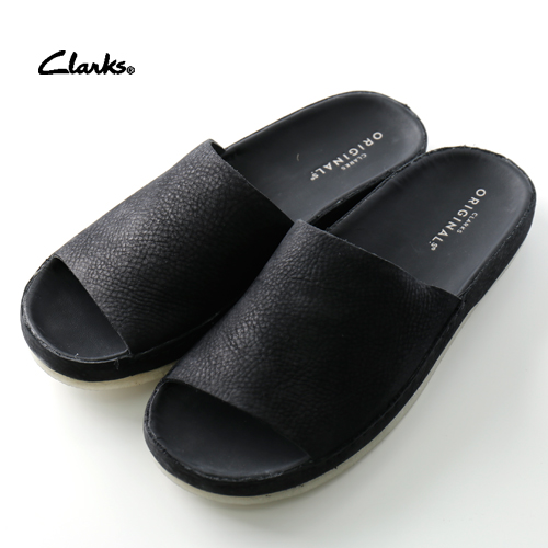 new lower prices new new varieties clarks Shower sandals Ranger Free 26139162 Black Leather [men sandal  comfort sandals resort mode fashion cool summer clothes summer clothing  summer ...