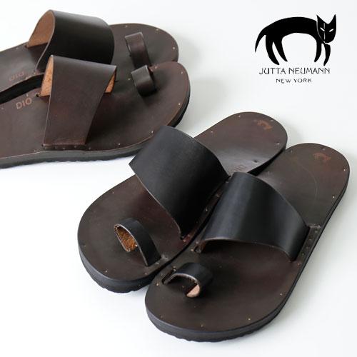 jutta neumann レザーサンダル Leather Sandals ALICE(ROUND TOE) [メンズ サンダル 靴 コンフォートサンダル アリス リゾート モード 春 夏 ダブルストラップ 本革 上品 ビルケンソール ラティゴレザー モード]