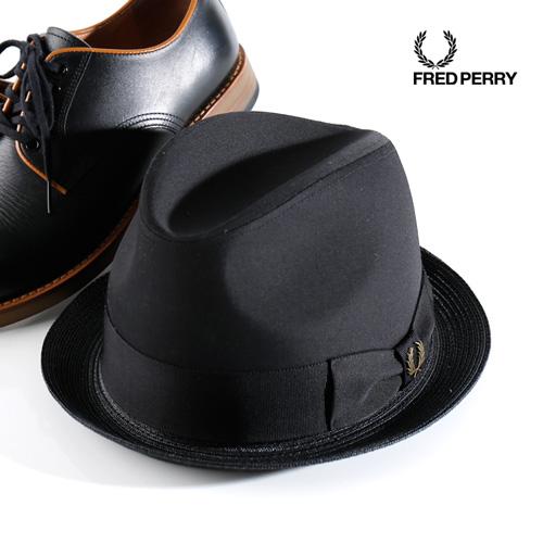 FRED PERRY/フレッドペリー トリルビーハット TRILBY HAT F9509[メンズ ハット 帽子 紳士 おしゃれ かっこいい 紳士 秋服 秋物 秋 冬服 冬物 冬 大人 彼氏 プレゼント]