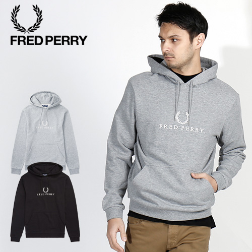 f7bc1dab3 [SALE] FRED PERRY/ Fred Perry embroidery food parka EMBROIDERED HOODED  SWEATSHIRT J5525 ...