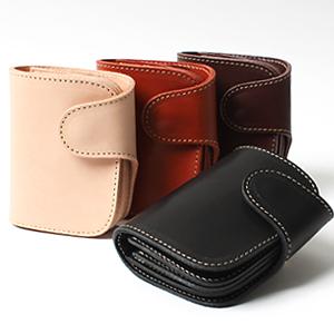 REDMOON レッドムーン MID Line 二つ折り財布 P-01-MID[メンズ 男物 本革 サドルレザー 日本製 職人 匠 財布 革財布 ウォレット ショートウォレット おしゃれ かっこいい 大人 彼氏 男性 プレゼント]