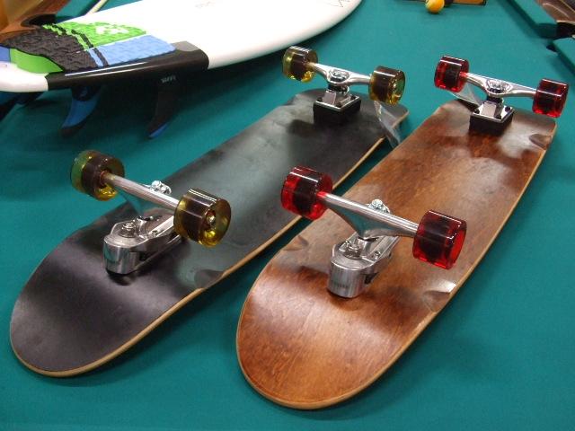 WOODY PRESS! ウッディプレス スケートボード 36インチ(91cm) スラスター2搭載! サーフスケート ♠ジャックポット湘南